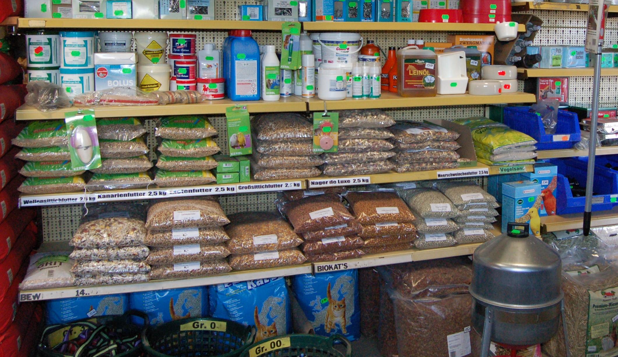 Heimtierfutter Landwarenhandel Tute